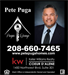 Pete Puga, Keller Williams Realty