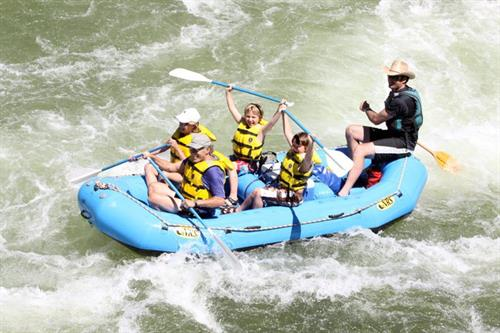 Family Full Day and Half Day Whitewater Rafting Trips