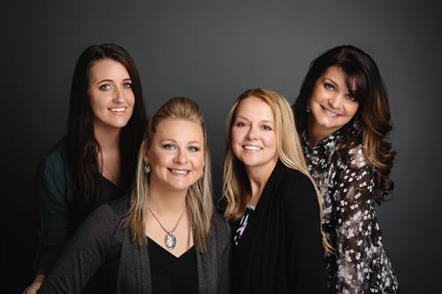 Escrow Staff: Jessica Thompson, Kristy Anstine, Lynsie Odd & Kellie Sweeney