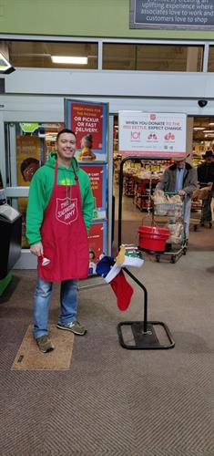 Ringing the bell for charity
