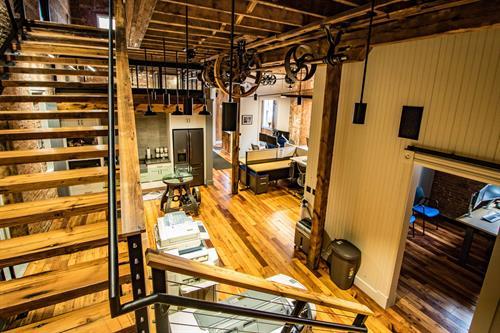 Delta 3 office interior