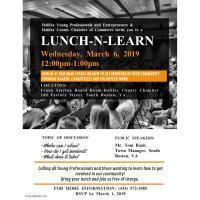 Lunch-N-Learn with Tom Raab