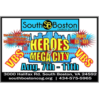 South Boston Church of God Vacation Bible School