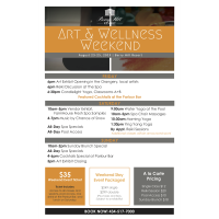 Art & Wellness Weekend at Berry Hill Resort