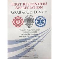 First Responders Appreciation Grab & Go Lunch