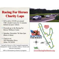 Racing for Heroes Charity Laps