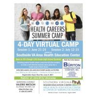 Health Careers Virtual Summer Camp