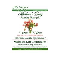 Mother's Day at Molasses