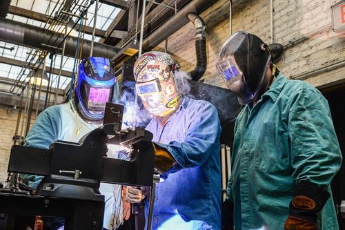 Become a certified welder in only 10 months with Welding@SVHEC