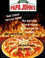 Papa John's Pizza - South Boston