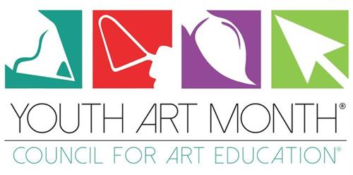 "Youth Art Month 2020 ""Take a journey through Art"" presented by Parsons-Bruce Art Association (March)"