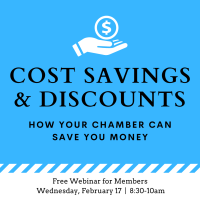 Cost Savings & Discounts Webinar: How Your Chamber Can Save You Money