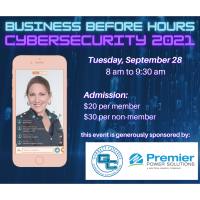 Business Before Hours - Cybersecurity 2021