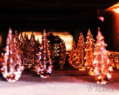 Handmade in Maryland and Vermont in rich, clear, lead-free glass, these steadfast little trees will inspire gratitude and delight.