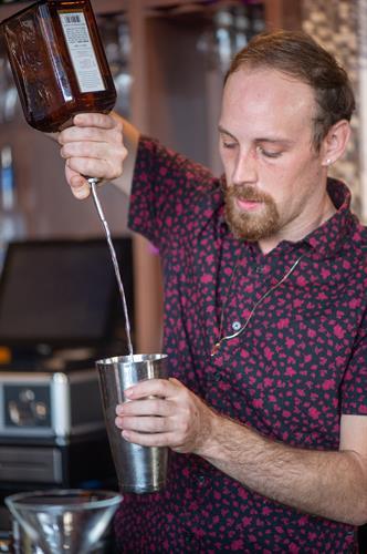 Our bartender, Doug