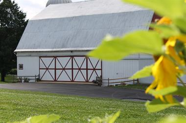 Sang Hill Farms is showcased in a rural valley, just minutes from the hub of Deep Creek Lake.