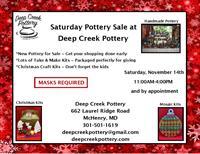 Saturday Pottery Sale