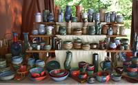 Outdoor Art Market at Deep Creek Pottery
