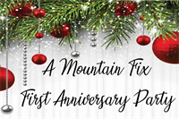 A Mountain Fix - First Anniversary Party