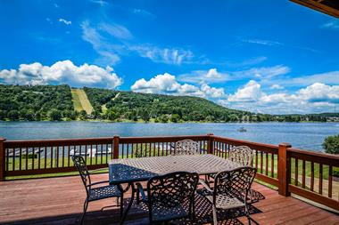 Deck Overlooking Deep Creek Lake