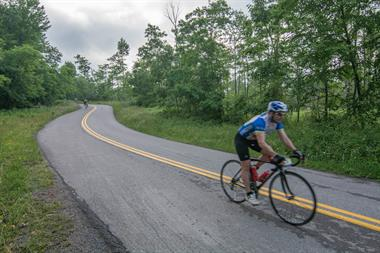Gran Fondo through Garrett County