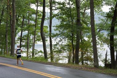 SavageMan Triathlon along Deep Creek Lake