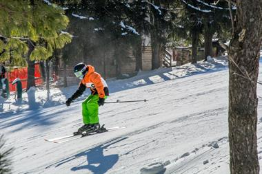 Snow Skiing at Wisp Ski Resort