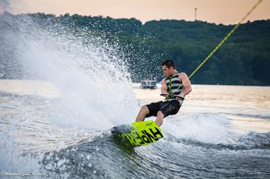 Wakeboarding on Deep Creek Lake