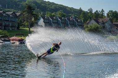 Water Skiing at Deep Creek Lake