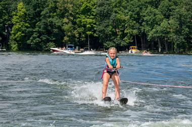 Water Skiing on Deep Creek Lake