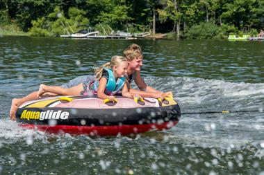 Water Tubing on Deep Creek Lake