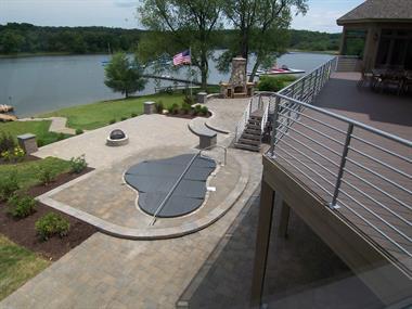 Lake Modern Deck