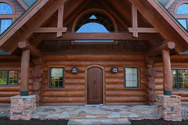 Elegant Log House