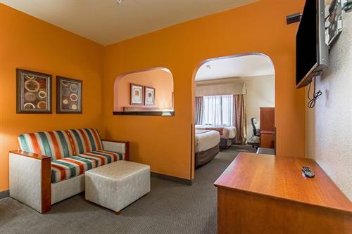 Sitting area of Junior suite