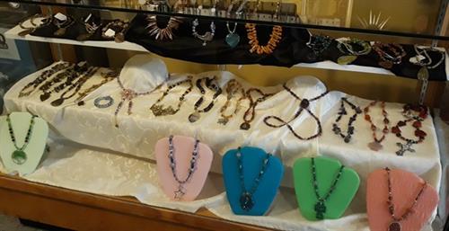 Hand strung jewelry