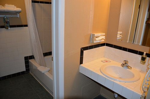 Our guest rooms and their bathrooms are meticulously clean.