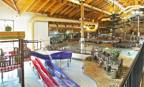 Indoor Waterpark Kids Play Area