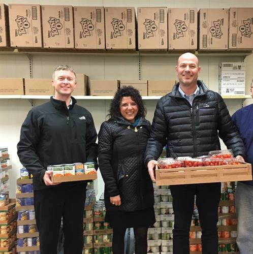 Our Tomah, WI TRICOR Team Giving Back to the Neighbor for Neighbor, Inc. Food Pantry
