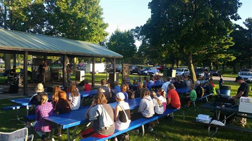 Concert in the Park for our Ignite Youth Group Fall Kick Off