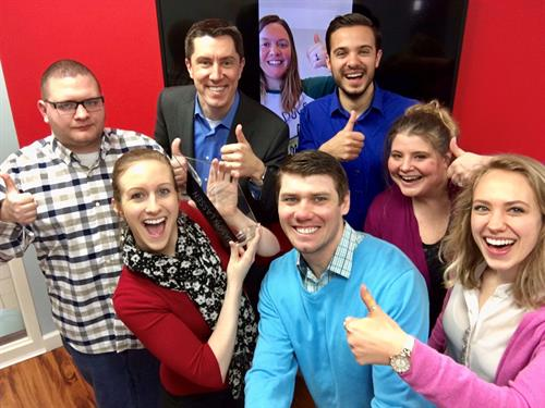 We had to celebrate with a selfie when we were awarded State Agency of the Year!