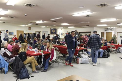Christmas party for Veterans 2019