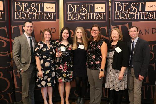 Best Version Media's highly awarded company culture is recognized often by organizations like Best & Brightest!