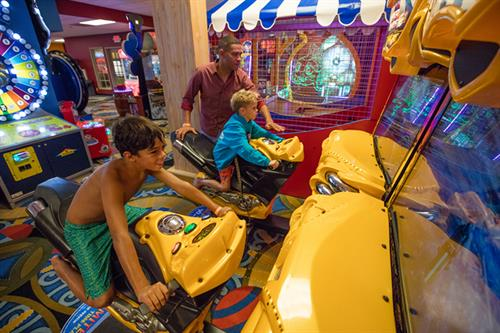 Geyser Games Arcade
