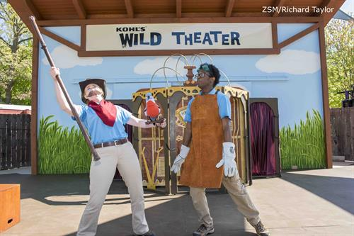 Kohl's Wild Theater is the largest zoo-based theater program in the country.