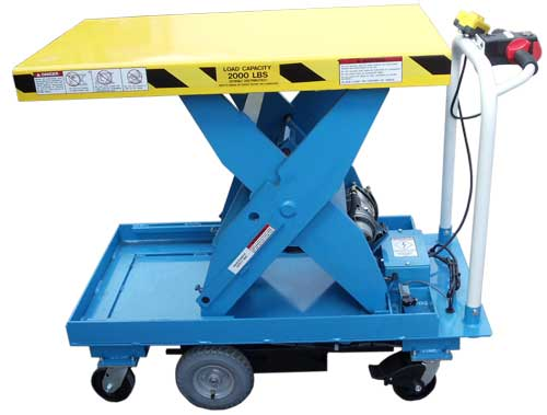 LPMC Medium DUty Mobile Lift Tables
