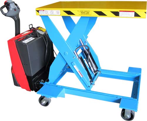 LPT-MGV Heavy Duty Mobile Lift Tables