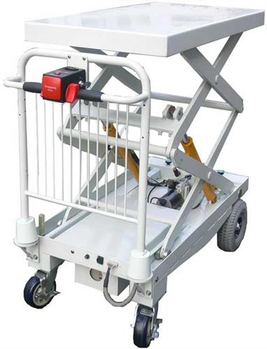 Moto-Cart Jr with Electric Lift Table