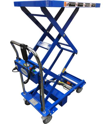 MMLA Electric Linear Actuated Lift Carts