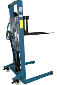 MXSA Manual Push, Manual Pump Up Walk Behind Stacker