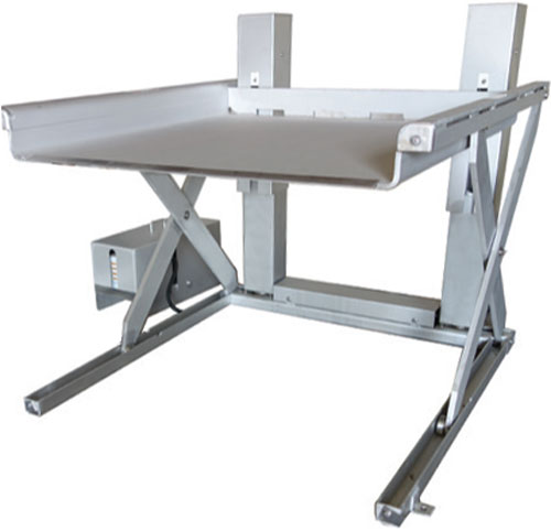 SXTLP-25 Stainless Steel Ground Entry Lift Table